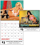 Fantasy Builders Spiral Wall Calendars